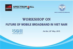 Workshop on future of mobile broadband in Viet Nam