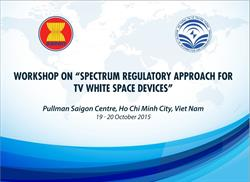Workshop on Spectrum regulatory for TV white space devices
