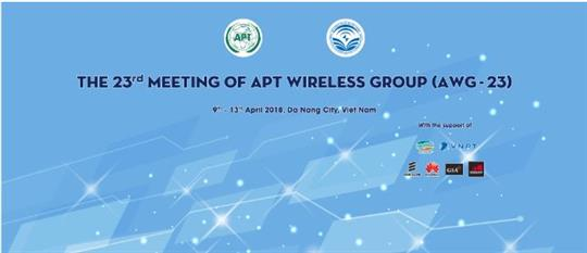 The 23rd Meeting of the APT Wireless Group (AWG-23) ​
